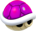 Purple Shell Artwork - Super Mario 3D World
