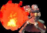 1.14.Male Robin casting Arcfire 2
