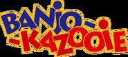 Banjo Kazooie logo flat