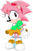Classic amy sonic x style