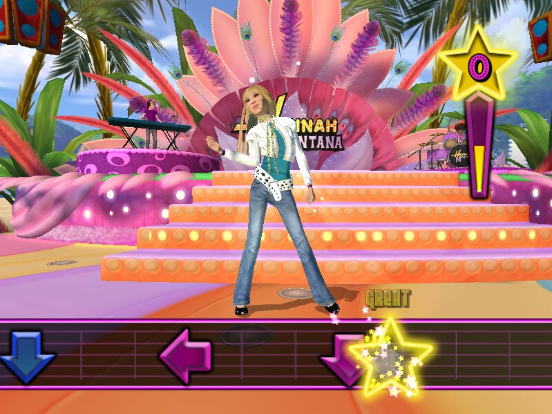 Hannah montana the movie game download.