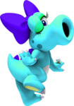 Light Blue Birdo NSMBDIY