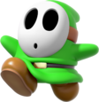 MKDX Green Shy Guy