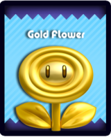 Super Mario & the Ludu Tree - Powerup Gold Flower