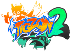 Tigzon 2 logo design (ft. Zega the Shadow Tigzon)