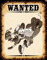 BountyPoster DipperandMabel