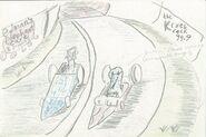 Kicks of potassium- slotcar race