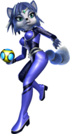 Krystal Artwork 1 - Star Fox Assault