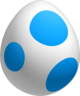 Light Blue Yoshi Egg