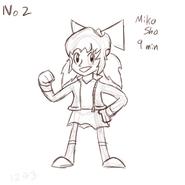 Miko Sho pas