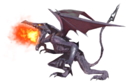 1.8.Ridley preparing his fire breath