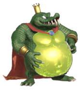 2.13.King K.Rool preparing his Belly Armor