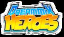 DreamMix Heroes logo design