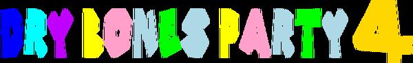 Dry Bones Party 4 Logo