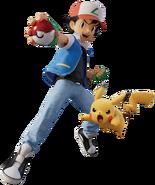 Ash and Pikachu - Pokemon Mewtwo Strikes Back Evolution