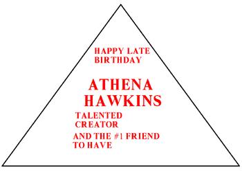 Athenas late present thing