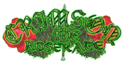 Crimson the roserade logo