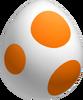 Orange Yoshi Egg NSMBDIY