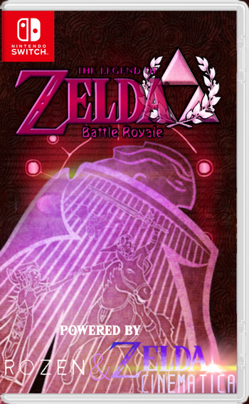 Zelda battle royale switch official box