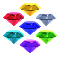 Chaos emeralds sonic runners by banjo2015-d8rzd3u