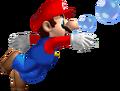 Swimming Mario