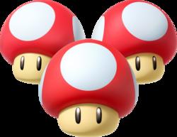 Triple Mushroom