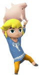 1.3.Outset Toon Link Holding a Pig