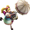 593px-Hyrule Warriors - Agitha Parasol Artwork