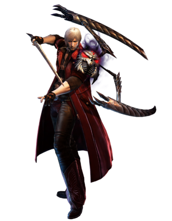 DMC4 Dante Lucifer