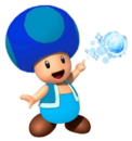 Ice Blue Toad
