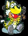 Mewoshi the Dinocat YF97