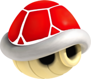 N64 Red Shell Artwork - Mario Kart Wii