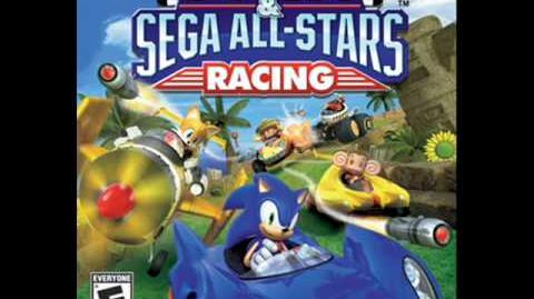 Sonic and sega all stars racing samba de janeiro