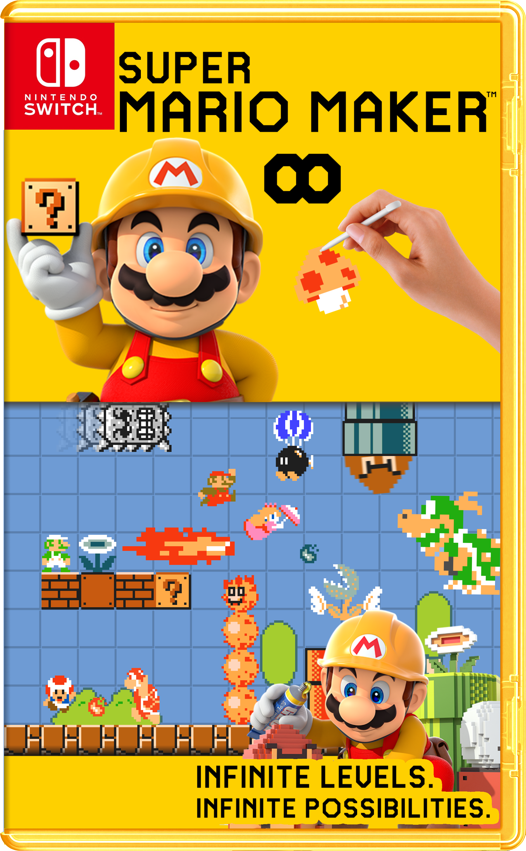 Super Mario Maker Fantendo Nintendo Fanon Wiki