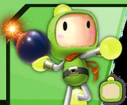 Bomberman9Green