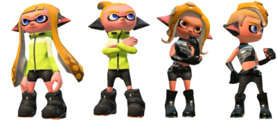 MnS Inklings and Octolings