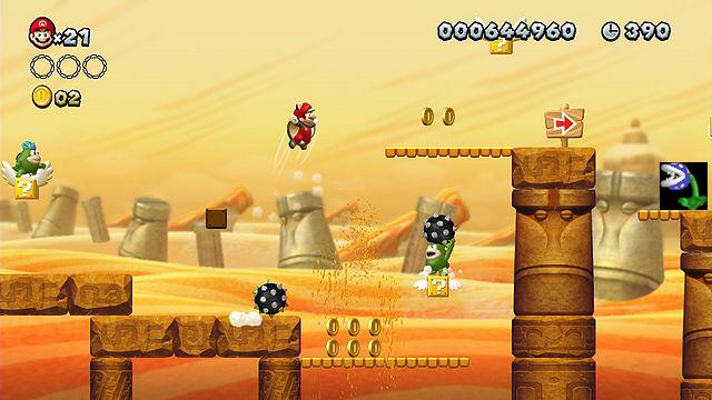 New Super Mario Bros  X/World 2-4 | Fantendo - Nintendo