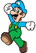 2D Ice Luigi