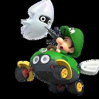 Baby Luigi Artwork - Mario Kart 8