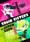 SquidSistersConcertJapanExpo2