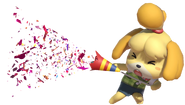 0.1.Isabelle using a Party Popper
