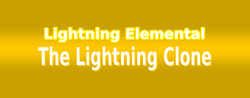 The Lightning Clone - Logo
