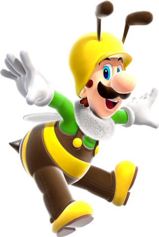 File:Bee Luigi.png