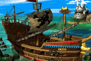 Gangplank Galleon - Overworld - Donkey Kong Country 2 (SNES)