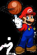 Mario Artwork - Mario Hoops 3-on-3