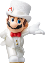 Mario Odyssey Wedding Mario separate