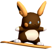 3.1.Shiny Alolan Raichu Floating