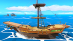 SSBU-Pirate Ship