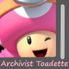 Archivist Toadette Image Kart