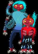 Azul & Fudo Arana